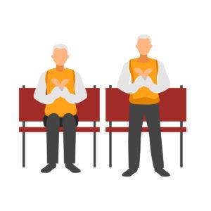 Ejercicios de pie - Ejercicios para personas mayores