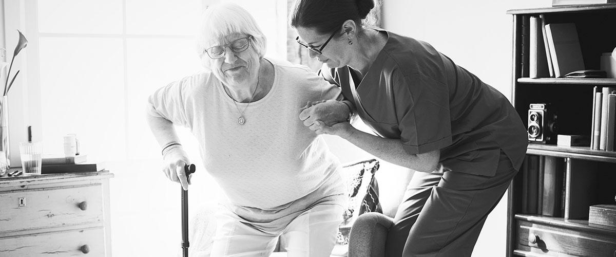 Geriatría a domicilio como el reto de la enfermería
